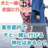 【犬と一緒に初詣に行こう!】東京都内で犬と一緒に行ける神社はあるの?犬のお守も?!